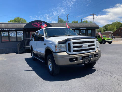 2005 Ford Excursion for sale at Savannah Motors in Belleville IL
