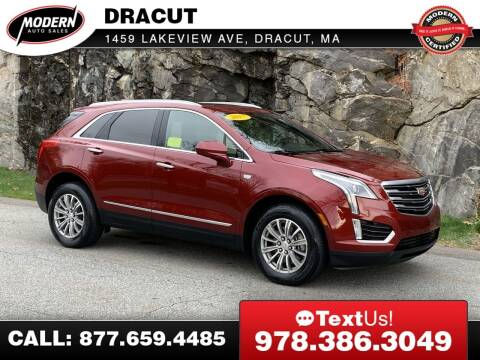 2017 Cadillac XT5 for sale at Modern Auto Sales in Tyngsboro MA