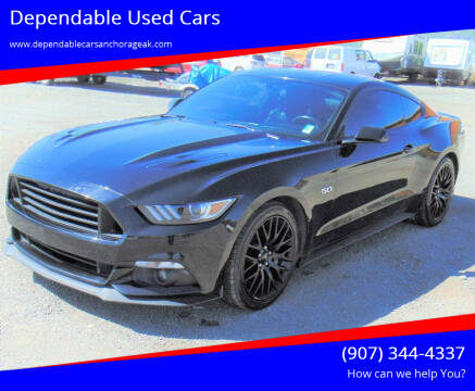 2016 Ford Mustang for sale at Dependable Used Cars in Anchorage AK