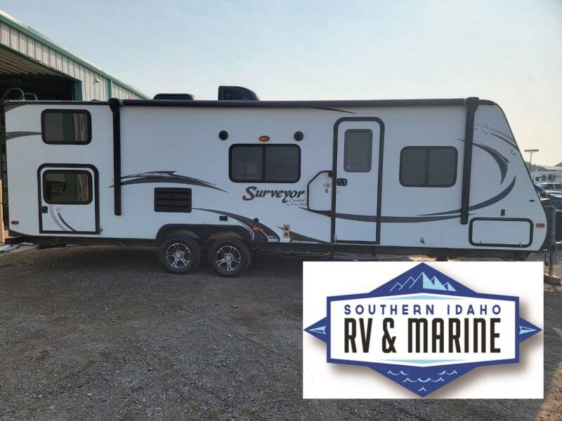 2015 FOREST RIVER SURVEYOR 280BHS for sale at SOUTHERN IDAHO RV AND MARINE in Jerome ID