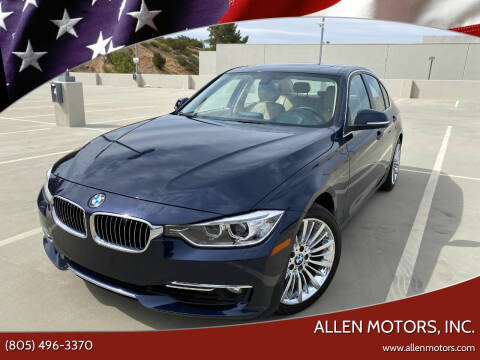 2013 BMW 3 Series for sale at Allen Motors, Inc. in Thousand Oaks CA