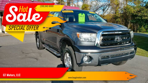 2011 Toyota Tundra for sale at GT Motors, LLC in Elkin NC