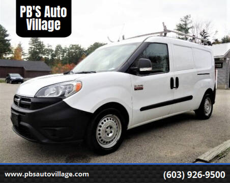 2016 RAM ProMaster City Cargo for sale at PB'S Auto Village in Hampton Falls NH