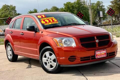 2007 Dodge Caliber for sale at SOLOMA AUTO SALES in Grand Island NE