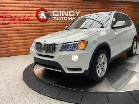 2014 BMW X3 for sale at Dixie Imports in Fairfield OH