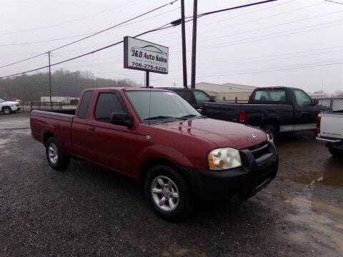 2004 Nissan Frontier for sale at J & D Auto Sales in Dalton GA