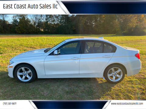 2015 BMW 3 Series for sale at East Coast Auto Sales llc in Virginia Beach VA