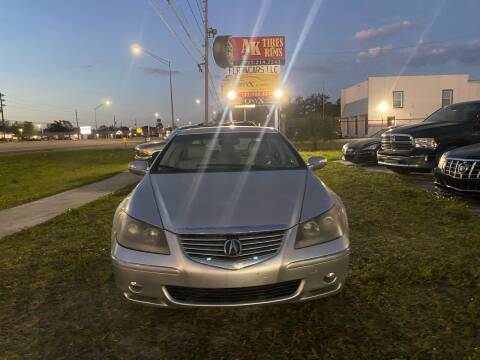 2006 Acura RL for sale at ONYX AUTOMOTIVE, LLC in Largo FL
