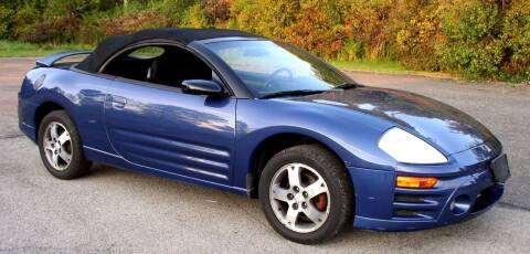 2003 Mitsubishi Eclipse Spyder for sale at Angelo's Auto Sales in Lowellville OH