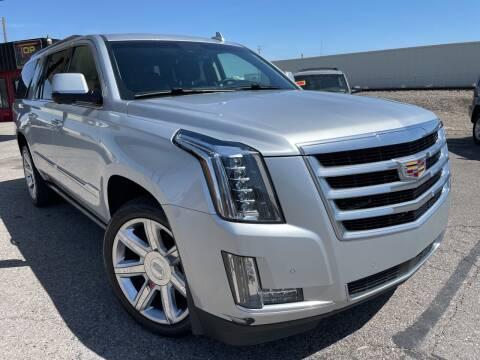 2015 Cadillac Escalade ESV for sale at Top Line Auto Sales in Idaho Falls ID