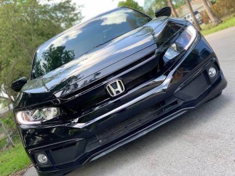 2019 Honda Civic for sale at HIGH PERFORMANCE MOTORS in Hollywood FL