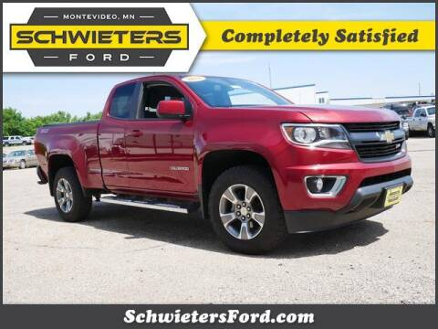 2018 Chevrolet Colorado for sale at Schwieters Ford of Montevideo in Montevideo MN