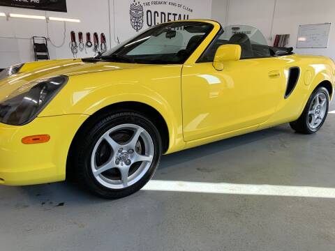 2002 Toyota MR2 Spyder for sale at The Car Buying Center in St Louis Park MN