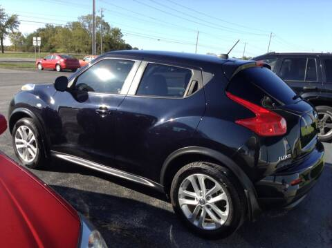 2011 Nissan JUKE for sale at Kevin's Motor Sales in Montpelier OH