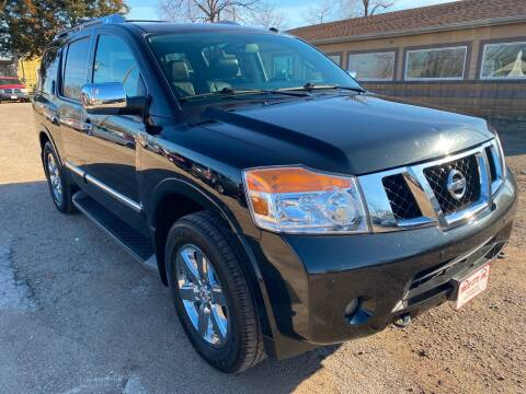 2013 Nissan Armada for sale at Truck City Inc in Des Moines IA