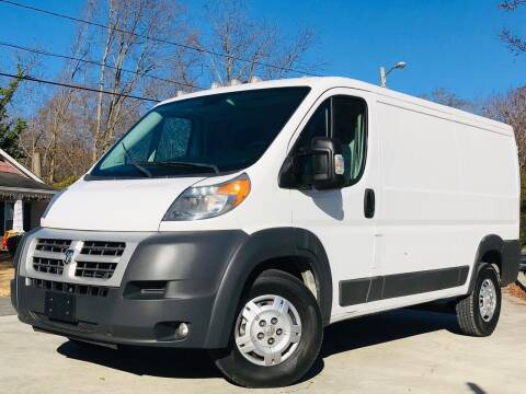 2014 RAM ProMaster Cargo for sale at Cobb Luxury Cars in Marietta GA