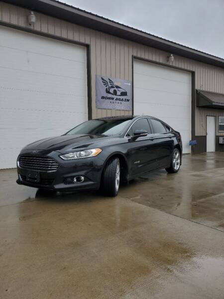 2014 Ford Fusion Hybrid for sale at Born Again Auto's in Sioux Falls SD