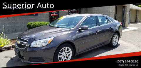 2013 Chevrolet Malibu for sale at Superior Auto in Cortland NY