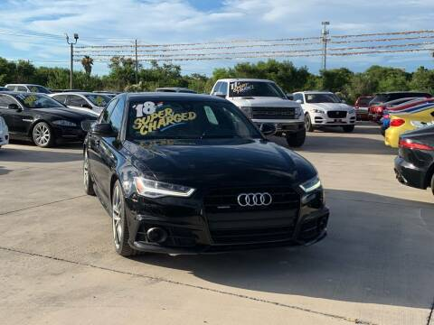 2018 Audi A6 for sale at A & V MOTORS in Hidalgo TX