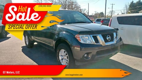 2015 Nissan Frontier for sale at GT Motors, LLC in Elkin NC