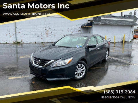2016 Nissan Altima for sale at Santa Motors Inc in Rochester NY