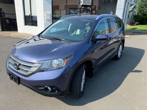 2013 Honda CR-V for sale at European Motors in West Hartford CT