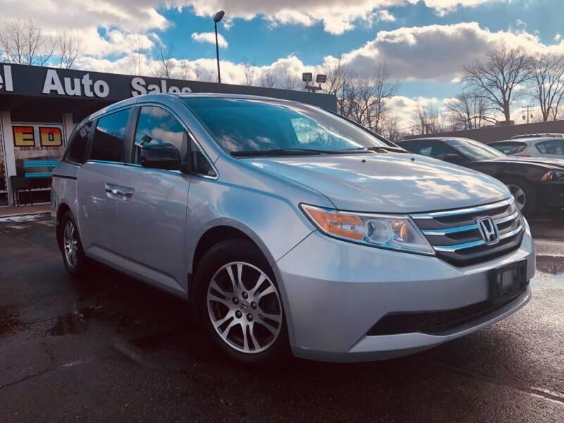 2012 Honda Odyssey for sale at Daniel Auto Sales inc in Clinton Township MI
