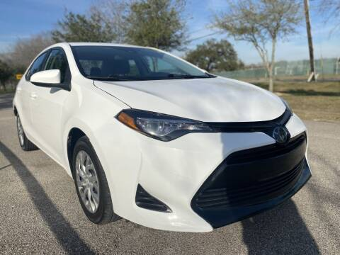 2019 Toyota Corolla for sale at Prestige Motor Cars in Houston TX