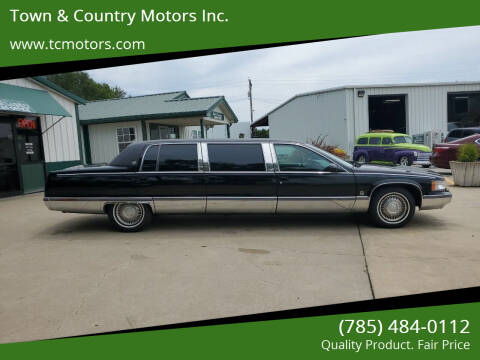 1996 Cadillac Fleetwood for sale at Town & Country Motors Inc. in Meriden KS