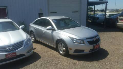 2012 Chevrolet Cruze for sale at Ron Lowman Motors Minot in Minot ND