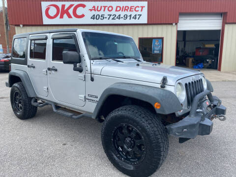 2011 Jeep Wrangler Unlimited for sale at OKC Auto Direct in Oklahoma City OK
