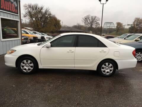 2002 Toyota Camry for sale at Gordon Auto Sales LLC in Sioux City IA