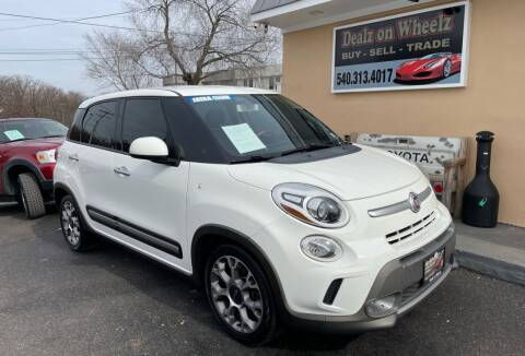 2014 FIAT 500L for sale at DEALZ ON WHEELZ in Winchester VA