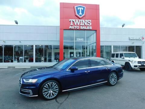 2019 Audi A8 L for sale at Twins Auto Sales Inc Redford 1 in Redford MI