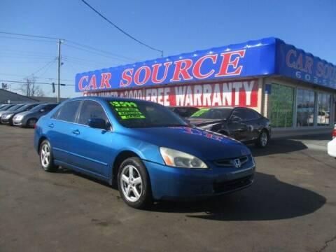 2005 Honda Accord for sale at CAR SOURCE OKC in Oklahoma City OK