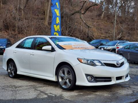 2012 Toyota Camry for sale at FAYAD AUTOMOTIVE GROUP in Pittsburgh PA