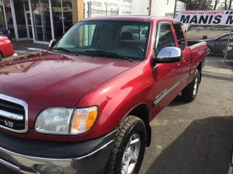 2002 Toyota Tundra for sale at Thomas Anthony Auto Sales LLC DBA Manis Motor Sale in Bridgeport CT