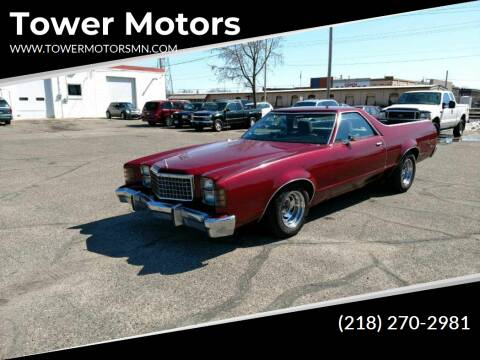 1979 Ford Ranchero for sale at Tower Motors in Brainerd MN