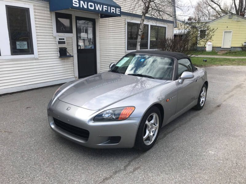 2000 Honda S2000 for sale at Snowfire Auto in Waterbury VT