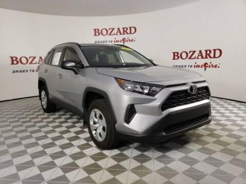 2020 Toyota RAV4 for sale at BOZARD FORD in Saint Augustine FL