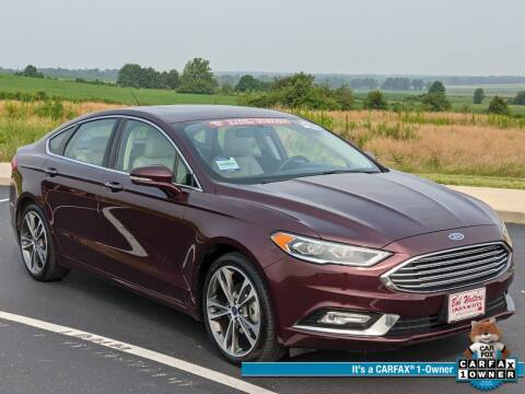 2017 Ford Fusion for sale at Bob Walters Linton Motors in Linton IN