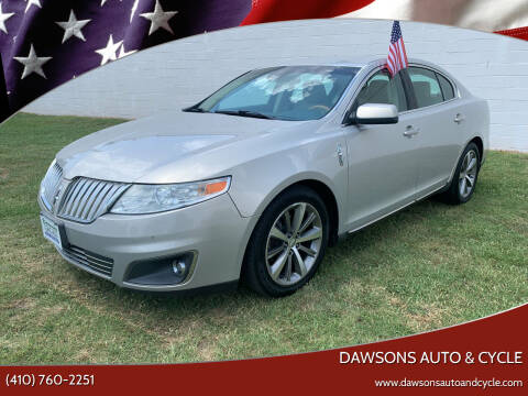 2009 Lincoln MKS for sale at Dawsons Auto & Cycle in Glen Burnie MD