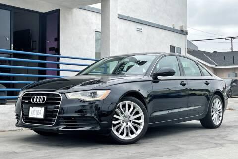 2014 Audi A6 for sale at Fastrack Auto Inc in Rosemead CA