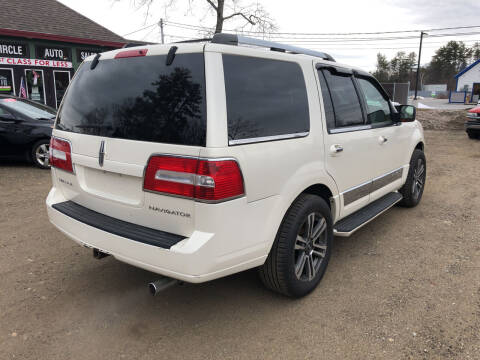 2008 Lincoln Navigator for sale at Winner's Circle Auto Sales in Tilton NH