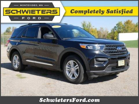 2020 Ford Explorer for sale at Schwieters Ford of Montevideo in Montevideo MN