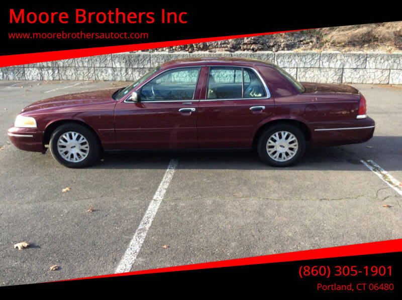 2004 Ford Crown Victoria for sale at Moore Brothers Inc in Portland CT
