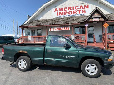 2000 Dodge Dakota for sale at American Imports INC in Indianapolis IN