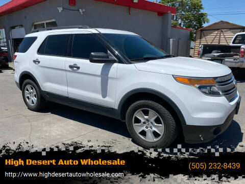 2014 Ford Explorer for sale at High Desert Auto Wholesale in Albuquerque NM