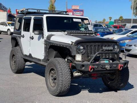 2015 Jeep Wrangler Unlimited for sale at Brown & Brown Wholesale in Mesa AZ