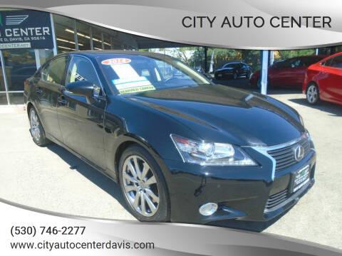 2014 Lexus GS 350 for sale at City Auto Center in Davis CA